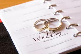 Wedding Bands and Wedding Planner Book