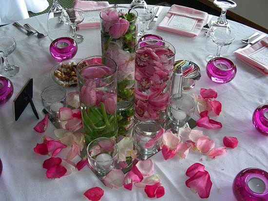 Ideas For Wedding Breakaway Centrepieces 4