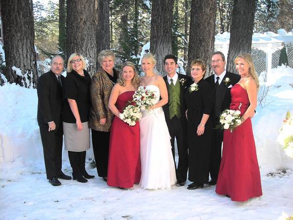 Is An Outdoor Wedding Reception In Winter Just Plain Crazy 1
